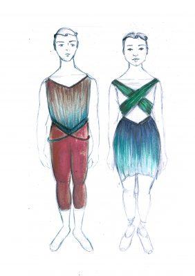 Arcadia Chorus Costume