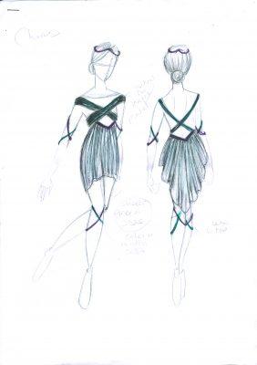 Arcadia Chorus Female Costumes