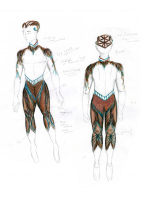 Arcadia Pan Costume